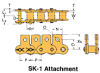 BS/DIN Chain Attachment Series -- RS08B SK-1 - Image