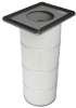 Dust Collector Filters -- HemiPleat® Synthetic -Image