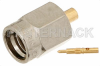 SSMA Male Connector Solder Attachment for PE-047SR, PE-SR047AL, PE-SR047FL -- PE44441 -Image