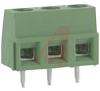 Connector, Terminal Block; Wire Receptacle; 3 Pos.; 16-30 AWG; 0.197 in. CL; Sid -- 70086276