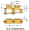 Double Pitch Chain Attachment with Large Plastic Rollers -- C2102HD A-2 - Image