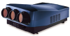 Ultra-high resolution digital projector with 9