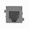 Modular UTP Jack Almond 6-Wire RJ11 -- 78991454371-1 - Image