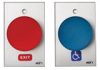 Oversized Tamper-resistant Exit or Handicap Button Switches -- 990E/990H