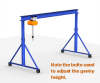 Gorbel Adjustable Steel Gantry Cranes