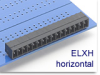 Header Terminal Block -- ELXH Series Mini Header