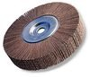 3M 241E Coated Aluminum Oxide Flap Wheel - 50 Grit - 1 in Face Width - 6 in Diameter - 1 in Center Hole - 35114 -- 051144-35114 - Image