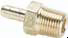 Dubl-Barb® Fittings -- Male Connector 28