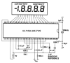 Low-Noise, 4 1/2 Digit, Single-Chip ADC with Multiplexed LCD Drivers -- ICL7129A - Image