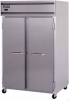 Pass-Thru Solid Door Refrigerator -- S2R-SS-PT