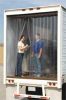 Strip Door,Ribbed,8x8Ft,16 Strips -- 4PLT3