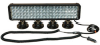 LED Light Emitter w/ Magnetic Bases - 80, 3-Watt LEDs - Extreme Environment - 20 X 4 LED Array -- LEDLB-80X2E-M