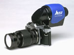 Hi-resolution camera with UV Quartz optics