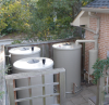 Aboveground Residential Rainwater Harvesting Tank -- RWH AGT (42)-425