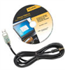 Fluke 700G/TRACK Data Logging Software and Cable -- EW-68087-98