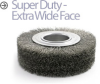 Crimped Wire Wheel Brush -- BDS-63 - Image