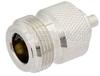 N Female Precision Connector Solder Attachment For PE-SR405AL, PE-SR405FL, PE-SR405FLJ, RG405 -- PE44704 -Image