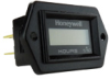 Honeywell 98000 Series Volt/Hour Meter with 6 mm Display, Standard Face with Deluxe Bezel, Two-Screw Mounting, Honeywell on Face, Three 1/4 inch Male Blade Terminals, 0 to 99,999.9 hours, 12 Vdc -- 98103