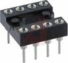 Socket, DIP;8Pins;Low Profile;Open;Solder Tail;0.3In.;Beryllium Copper;Tin/Lead -- 70206319 - Image