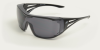 Edge Ossa Fit over glasses Smoke lens XF116-L Safety Glasses -- XF116-L