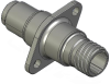 Honeywell Harsh Application Aerospace Proximity Sensor, HAPS Series, Inline cylindrical flanged form factor, 2,50 mm/3,50 range, 3-wire current sinking output near/fault/far, D38999/25YA98PN terminati -- 1PCFD3AANN-000 -Image
