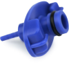 Fisnar 5601479 Adapter with O-Ring Blue 5 cc, 0.125 in No Hose -- 5601479 - Image