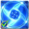 Quad Blue LED 80mm Fan -- 1000 -- View Larger Image
