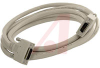 Cable Assy; 3 m; 28 AWG; Stranded; Non Booted; Parchment/Beige; UL, cUL Listed -- 70114059