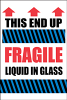 Fragile/Glass Labels