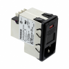 Power Entry Connectors - Inlets, Outlets, Modules -- 1-6609103-7-ND - Image