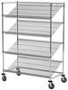 Mobile Slanted Shelf Starter Unit -- AWS-SLMU