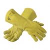 Ansell ActivArmr 43-216 Yellow Medium Cowhide Leather Welding & Heat-Resistant Gloves - 076490-13644 -- 076490-13644 - Image