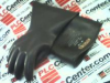 WHITE RUBBER 1-1-10-1/2-B ( SAFETY GLOVES 10KVAC 10-1/2IN CLASS-1 TYPE-1 BLACK ) -Image