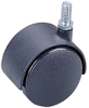 Nylon Twin Wheel Castors -- 75453 12 035