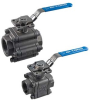 National Pipe Thread (NPT) Fire Safe Manual Ball Valves -- FS/FW-3PT -- View Larger Image