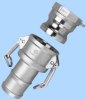 Import Cam and Groove -- Female Coupler - Female Thread