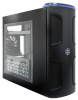 Silverstone Kublai Series Case w/Window KL03 - Black -- 9472