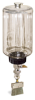 (Formerly B1745-7X09), Manual Chain Lubricator, 1/2 gal Polycarbonate Reservoir, Flat Brush Stainless Steel -- B1745-064B1SF1W -- View Larger Image
