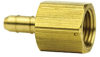 Fisnar 560701 Brass Straight Barbed Fitting 0.125 in NPT Female x 0.125 in I.D. Tube -- 560701 -Image