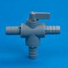 PVC Three-Way Ball Valves 326 Series -- 22259