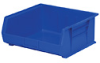 """30250 BLUE - Stackable Bin, 7"""" High, PACK OF 6 BINS (BLUE) -- GO-47151-14 -- View Larger Image"""