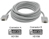 Cables To Go 25-Foot Premium Shielded HD15 Male/Male SXGA (1 -- 09461