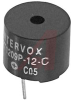 Transducer; 30 mA (Max.); 12 VDC; 2300 Hz; -20 to degC; Pin Termination -- 70115786