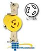 Leviton 15 AMP 277V Single Locking Flush Receptacle -- 47CM-60