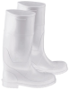 Onguard 51034 White 10 (Women's) Chemical-Resistant Boots - 14 in Height - PVC Upper, PVC Sole and Steel Toe Cap - 791079-10051 -- 791079-10051 - Image