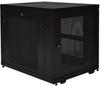SmartRack 12U Mid-Depth Rack Enclosure Cabinet -- SR12UB -- View Larger Image