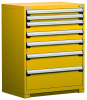 Heavy-Duty Stationary Cabinet , 7 Drawers (36