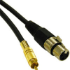 1.5ft Pro-Audio XLR Female to RCA Male Cable -- 2215-40051-001 - Image