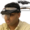 Headband Magnifier with Light -- AV26415 - Image