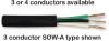 SOOW Service Cord SO12-4, 65/30 Stranding -- SO12-4 -Image